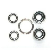 BP GENERAL BOTTOM BRACKET SET Racer/MTB Waterproof Slotted SILVER(1368)