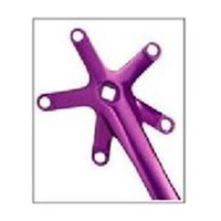 BP GENERAL-CRANK SET  170mm 130 BCD Left & Right Single Speed PURPLE(2092G)
