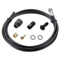 TEKTRO-Banjo hose kit, w/banjo unit kit, kevler hose,length 1800 mm Black(23732)