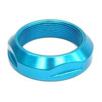 BP GENERAL-Lock Nut, BLUE, OD1 1/8 ID 25.4 dia,  Alloy