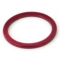 BP GENERAL-SPACER  Alloy, 1 1/8  Red colour, 2mm(3089A)