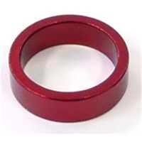 BP GENERAL-SPACER  Alloy, 1 1/8  Red colour, 10mm(3089D)