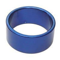 BP GENERAL-SPACER  Alloy, 1 1/8 15mm Blue(3096E)