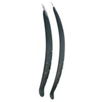 BP GENERAL-MUDGUARD SET 26-700C, Front & Rear, BLACK