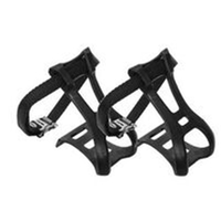 BP GENERAL-Toe Clips, with Straps, MTB, Medium