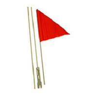 "BP GENERAL-SAFETY FLAG  2 Pieces, 60""/1.5m Length, Fibreglass  ORANGE"