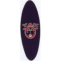 BP GENERAL-Grip Tape, Scooter Deck, YAK Oval 340 x 90mm, BLACK(4482)