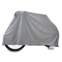 BP GENERAL-Bike Cover, Silver PVC Lotus Brand,  69x23x33(4494)