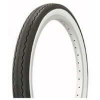 BP GENERAL-TYRE  20 x 2.125 BLACK with WHITE WALLS, Freestyle