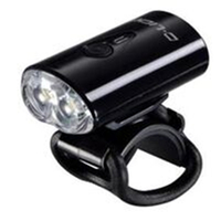 "BP GENERAL-LIGHT - ""Super Compact"" USB Front Light, 2 LED, USB Rechargeable, BLACK Casing, White Light, D-Light Display Box"