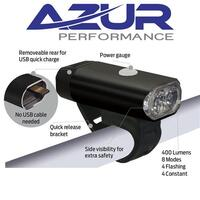 Azur USB 400 Bike Head Light