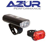 Azur USB 750 Bike Light Set