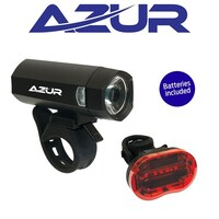 Azur Blaze Bike Light Set 40/25 Lumens Kit