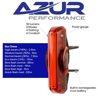 AZUR-USB XT 50 Lumens Tail Light(ALUSBTLXT)