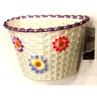 BP GENERAL-BASKET SMALL FLOWER - PURPLE BAND, SAME product as 1148