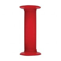 PROSERIES-GRIPS - High quality diamond pattern BMX handlebar grips, Flanged. Clossed End. 130mm RED - Oxford Product