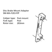 SM-MA-F203-PP ADAPTER 203mm CALIPER: POST MOUNT: POST