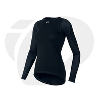 Women's PI BASE - Ws TRANSFER WOOL LS  Black