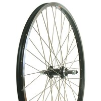 "BIKE CORP Bike WHEEL 26"" ALLOY NUTTED REAR BLACK"